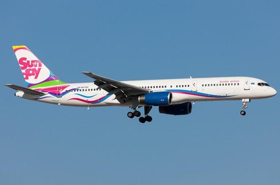 самолет Sunday Airlines